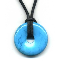 Pi-chinois Howlite Turquoise 30mm