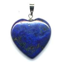 Pendentif Lapis Lazuli 20mm en Coeur