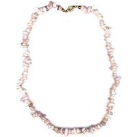 Collier en Morganite 45cm (rare) baroque Extra