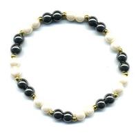 Bracelet hématite trois couleurs 2