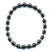 Bracelet Hématite cabochon