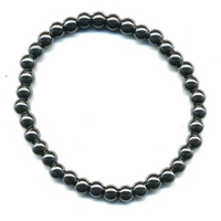 Bracelet Hématite boule 6 mm