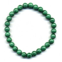 Bracelet Malachite boules 6mm