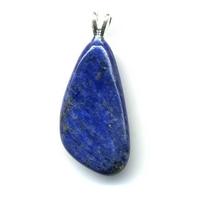 Pendentif lapis lazuli Extra avec Bélière Argent