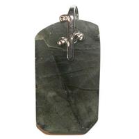 Labradorite pierre plate en pendentif forme libre