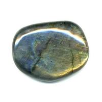 Galet pierre plate EXTRA en Labradorite entre 100 et 130 grs