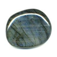Galet pierre plate EXTRA en Labradorite entre 130 et 150 grs