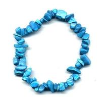 Bracelet baroque howlite Turquoise