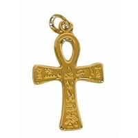 Croix Ankh Dorée