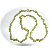 Collier Peridote / Olivine 40 cm baroque