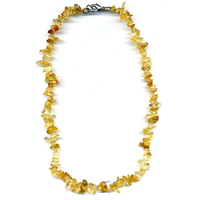 Collier Citrine baroque 42cm