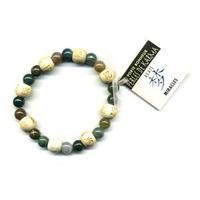Bracelet perles de karma en Agate