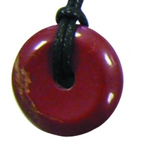 Pi-chinois Jaspe rouge 30 mm