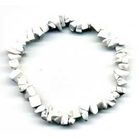 Bracelet baroque en howlite