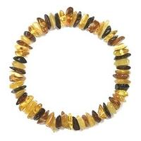Bracelet Ambre multicolore