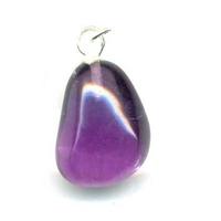 Pendentif fluorine violette