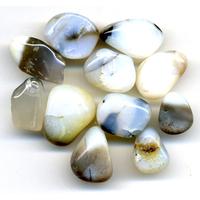 Opale blanche de 15 à 20mm