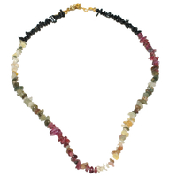 Collier Baroque Tourmaline Quattro