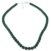 Collier malachite 45cm boules 6mm