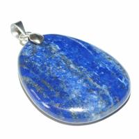Lapis Lazuli mini pierre plate en Pendentif