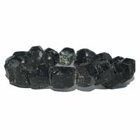 Bracelet baroque Tourmaline Noire brute Extra