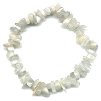 Bracelet baroque en pierre de lune Extra