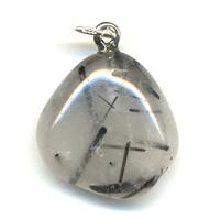 Pendentif quartz tourmaline Extra