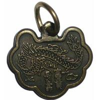 Amulette du Cambodge du Dragon vert