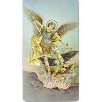 Image religieuse Saint Michel 10x6cm