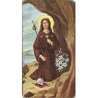 Image religieuse Sainte Rosalie