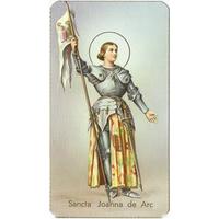 Image religieuse Sainte Jeanne d'Arc