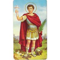 Image religieuse Saint Expédit 7x4cm