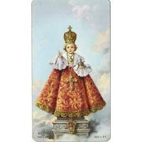 Image Religieuse Jésus de Prague 10x6cm