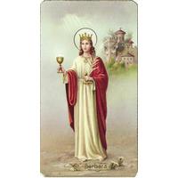 Image religieuse Sainte Barbara