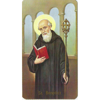 Image religieuse Saint Benoît