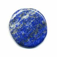 mini Pierre plate en Lapis Lazuli
