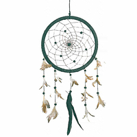 Dreamcatcher Naturel Perles Onyx grand modèle Noir