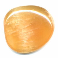 Pierre plate Calcite Orange