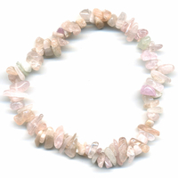 Bracelet Baroque en Morganite (rare)