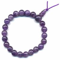 Améthyste en Mala tibétain avec 21 graines Power Bracelet 8 mm
