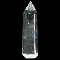 Pièce unique Opaline polie facettée en forme de pointe à poser de 398g