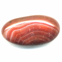 Galet agate rouge 30 à 40 mm Choix B