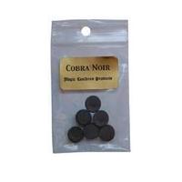 Cobra Noir enroulé