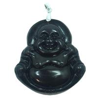 Pendentif oeil célèste Bouddha en argent