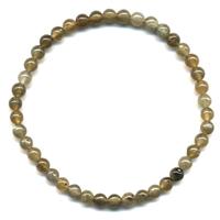 Bracelet en Labradorite boules 4mm