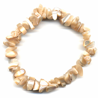 Bracelet baroque Nacre brun