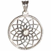 Pendentif Mandala - Pierre de Lune