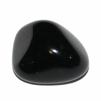 Obsidienne noire de 20 à 25mm - Lot de 3