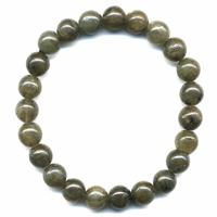 Bracelet en Labradorite boules 8mm