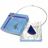 Pièce unique - Collier lapis lazuli percé Extra - Modèle 1